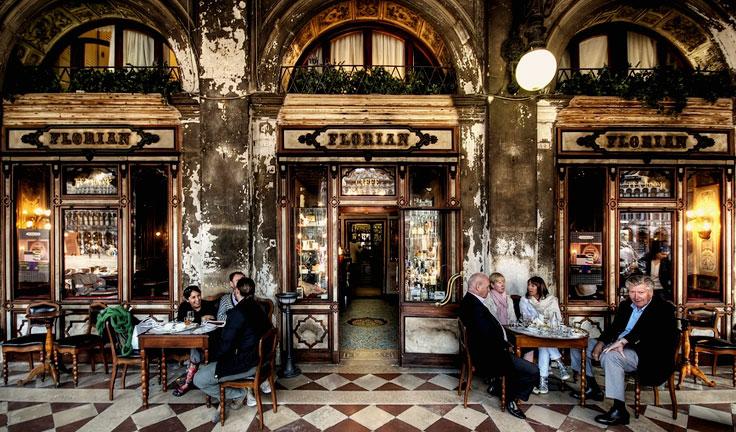 CAFFE' STORICI veneziani – Un Tè al FLORIAN – 19/20/21 Dicembre 2017